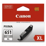 Canon CLI-651XLGY Grey High Yield Ink Cartridge