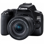 Canon EOS 200D II 24.1 Megapixel Digital Camera with 18-55 STM Single Lens Kit + $100 Cashback or Canon Gift by Redemption!
