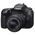 Canon EOS 90D 32.5 Megapixel Digital Camera  with 18-55 Single Lens Kit
