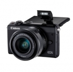 Canon EOS M100 24.2 Megapixel Mirrorless Digital Camera with 15-45 STM Single Lens Kit