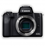 Canon EOS M50 24.1 Megapixel Mirrorless Digital Camera with 15-45 STM Single Lens Kit