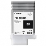 Canon PFI-106BK Black Ink Cartridge for IPF6300 and IPF6400