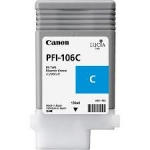 Canon PFI-106C Cyan Ink Cartridge for IPF6300 and IPF6400