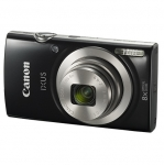Canon IXUS 185 20.5 Megapixel 8x Optical Zoom Digital Camera - Black