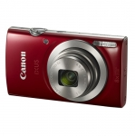 Canon IXUS 185 20.5 Megapixel 8x Optical Zoom Digital Camera - Red + 16GB SD Card + Camera Case!