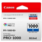 Canon PFI-1000B Blue 80ml Ink Tank Cartridge