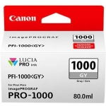 Canon PFI-1000GY Grey 80ml Ink Tank Cartridge