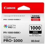 Canon PFI-1000MBK Matte Black 80ml Ink Tank Cartridge