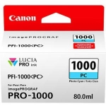 Canon PFI-1000PC Photo Cyan 80ml Ink Tank Cartridge