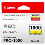 Canon PFI-1000Y Yellow 80ml Ink Tank Cartridge