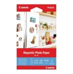 Canon MG-101 4x6 102x152mm 670gsm Magnetic Backing Photo Paper - 5 Sheets