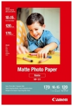 Canon MP-101 4x6 Matte 102x152mm 170gsm Photo Paper - 120 Sheets