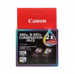 Canon PG-640XL + CL-641XL High Yield Ink Cartridge Value Pack - Black, Tri-Colour