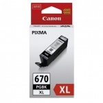 Canon PGI-670XL Black Pigment High Yield Ink Cartridge