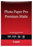 Canon PM-101 Pro Premium Matte A3 210gsm Photo Paper - 20 Sheets