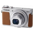 Canon PowerShot G9 X Mark II 20.1 Megapixel 3x Optical Zoom Digital Camera - Silver