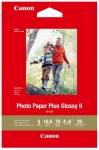 Canon PP-301 4x6 Glossy 102x152mm 265gsm Photo Paper Plus II - 20 Sheets