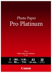 Canon PT-101 Platinum A3 300gsm Photo Paper Pro - 20 Sheets