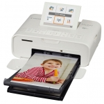 Canon Selphy CP1300 Dye Sublimation Photo Printer - White