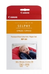 Canon RP54 Selphy 4x6 Photo Paper & Ink Kit - 54 Sheets