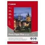 Canon SG201 Semi Gloss Satin A4 260gsm Photo Paper Plus - 20 Sheets