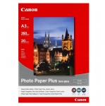 Canon SG201 Semi Gloss A3 260gsm Photo Paper Plus - 20 Sheets