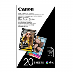 Canon ZINK Photo Paper for Mini Photo Printer - 20 Sheet Pack