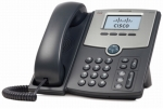 Cisco SPA512G 1 Line VoIP Caller ID Speakerphone 2 Network RJ-45 PoE Ports IP Phone
