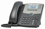 Cisco SPA514G 4 Line Vocie over IP Caller ID Speakerphone 2 Network RJ-45 PoE Ports IP Phone