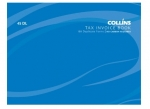 Collins 100x130mm Tax Invoice Duplicate NCR Book - 100 Leaf