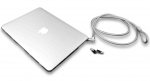 Compulocks MacBook Air 11 Inch Security Cable Lock & Case Bundle - Clear