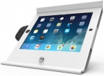 Compulocks Slide Basic POS Enclosure & Stand for iPad Mini - White