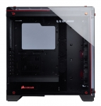 Corsair Crystal Series 570X RGB ATX Mid-Tower with Tempered Glass Panel – Red