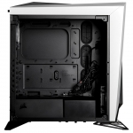 Corsair Carbide Series SPEC-OMEGA RGB Mid Tower Gaming Case with Tempered Glass Side Panel - White/Black