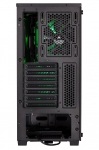 Corsair Carbide Series SPEC-DELTA RGB Mid Tower Gaming Case with Tempered Glass Side Panel - Black