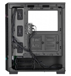 Corsair iCue 220T RGB ATX Mid-Tower with Airflow Tempered Glass Panel – Black