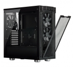 Corsair 275R ATX Mid-Tower with Airflow Tempered Glass Panel – Black