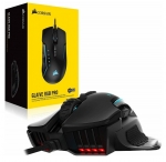 Corsair Glaive RGB Pro 18000 DPI USB Wired Gaming Mouse - Black