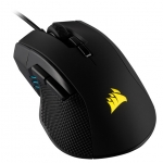 Corsair Ironclaw RGB 18000 DPI USB Wired Gaming Mouse - Black