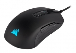 Corsair M55 RGB Pro Ambidextrous Multi-Grip 12400 DPI USB Wired Gaming Mouse - Black