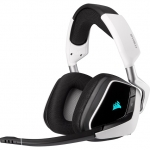 Corsair VOID RGB Elite Wireless Gaming Headset with 7.1 Surround - White