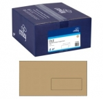 Croxley DLE Window Seal-Easi Manila Envelope - 500 Pack