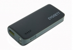 Cygnett ChargeUp Sport Powerbank 4400mAh 1 Amp - Black & Grey