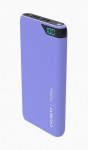 Cygnett ChargeUp Boost 10000mAh Dual Port USB Portable Power Bank - Lilac Purple