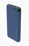 Cygnett ChargeUp Boost 10000mAh Dual Port USB Portable Power Bank - Navy