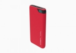 Cygnett ChargeUp Boost 10000mAh Dual Port USB Portable Power Bank - Red