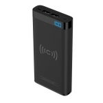 Cygnett ChargeUp Swift 10000mAh Battery Powerbank with Wireless Charging - Black
