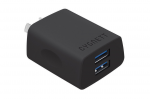 Cygnett Flow+ 2.4 Amp Dual USB Wall Charger - Black