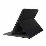 Cygnett TekView Slimline Folio Case with Pencil Holder for 10.2 Inch iPad (7th Gen) - Black & Grey