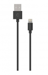 Cygnett Essentials 1m Lightning to USB-A Cable - Black